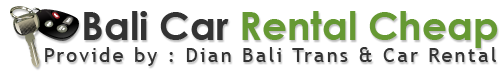 Bali Car Rental Cheap